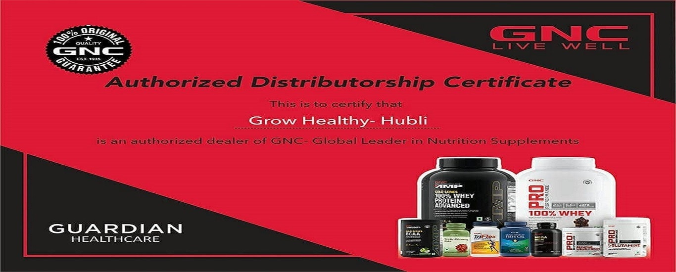 Grow Healthy Suppliment and Nutrition Store - Nutrition and Dietary Supplements Distributor in Kalidas Nagar, Hubli