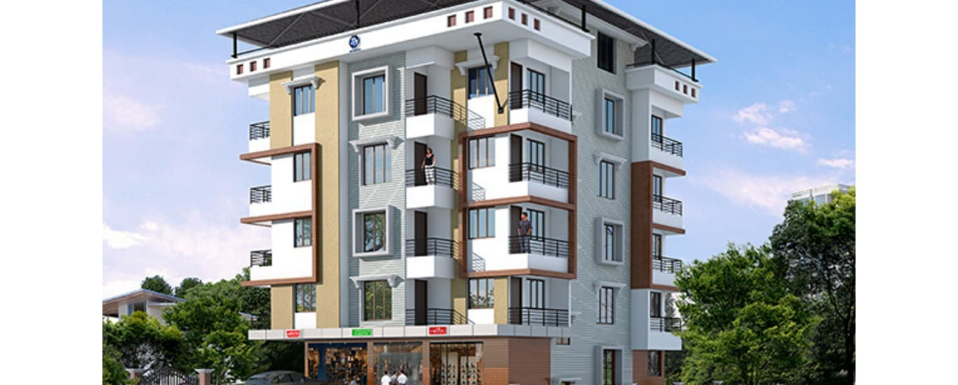 Residential ready to occupy apartment at Mangalore.