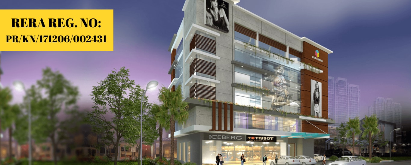 Commercial studio apartment for sale at Mangalore city. Affordable prices. Ongoing project ready for sale and investment. Budget apartment and commercial spaces available.