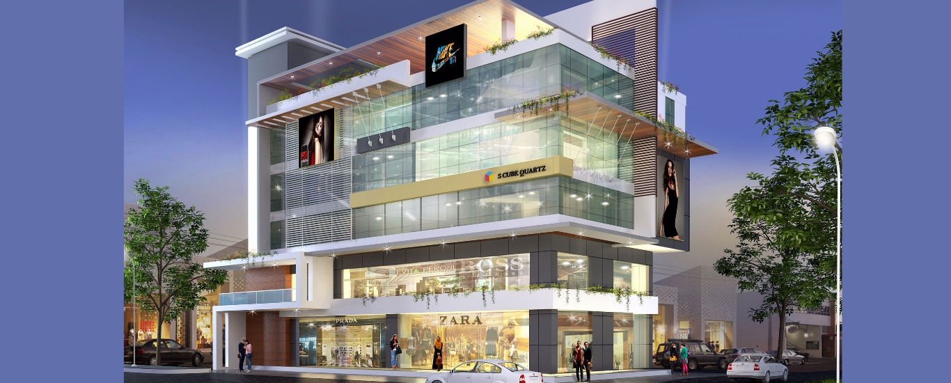 Commercial spaces available for sale and investment. Suitable for office spaces, clinics, beauty parlours, saloons etc. Located along the National Highway 66, Opp Nilgiris, Near Raghavendra Matt, Surathkal.