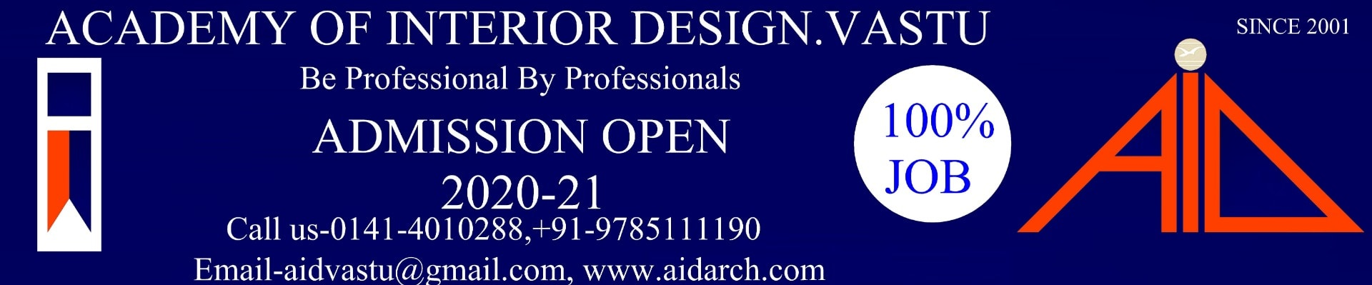 Academy Of Interior Design Vastu - Interior Designing Institute in Tonk Road, Jaipur