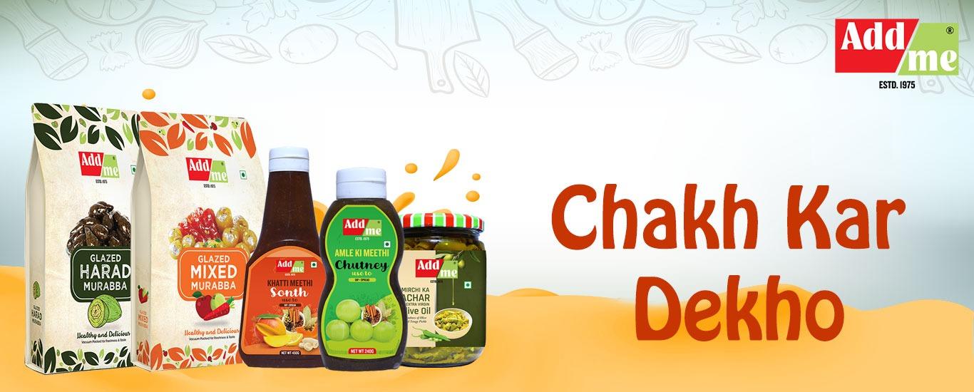 Addme Foods banner