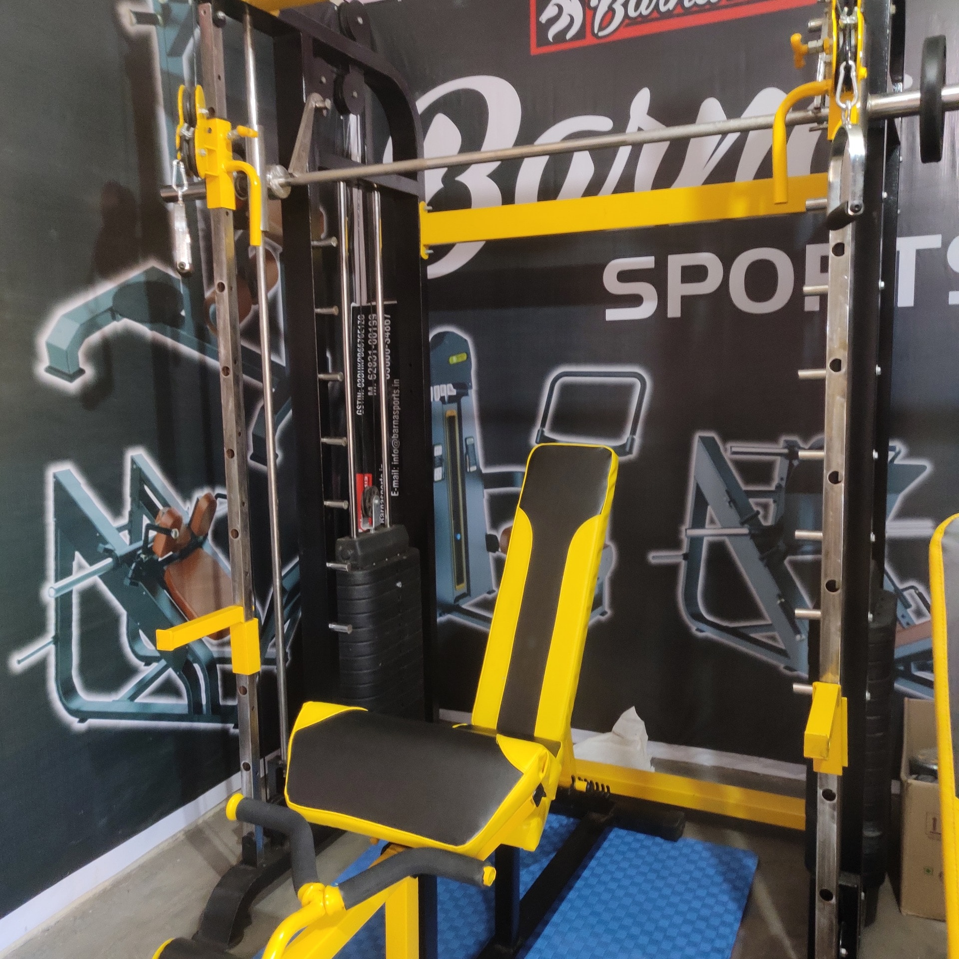 Functional Trainer with smith machine, Gym Equipments manufactures, Home gym Equipments, Fitness Equipments