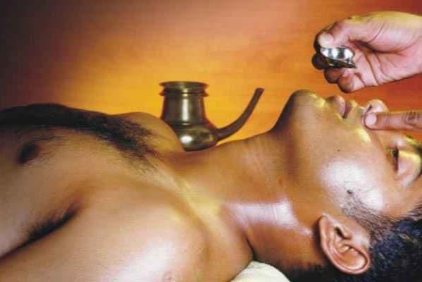 Nasya treatments at kerala done at cochin arya vaidya sala