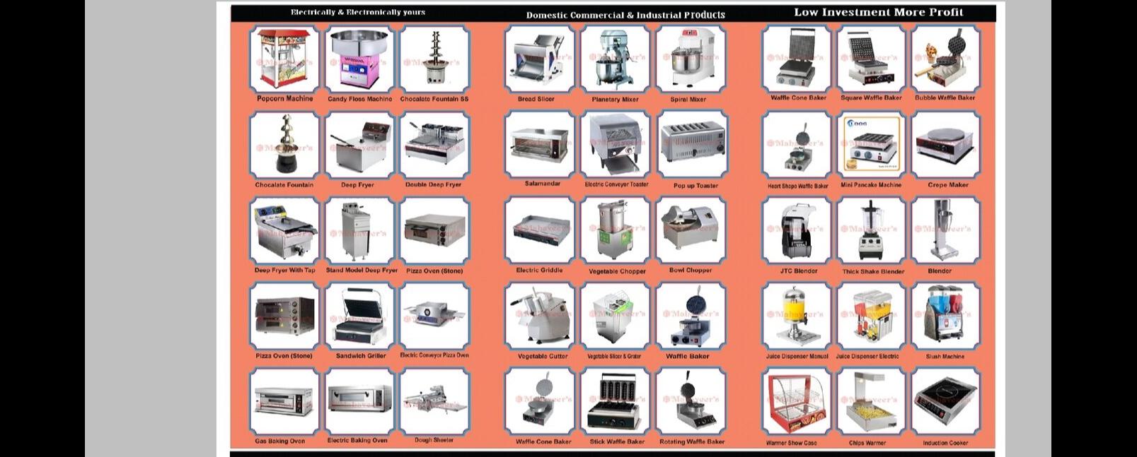 Mahaveer Electronics Electricals - Food Processing Machinery Supplier in Jeera-Bhoiguda, Hyderabad