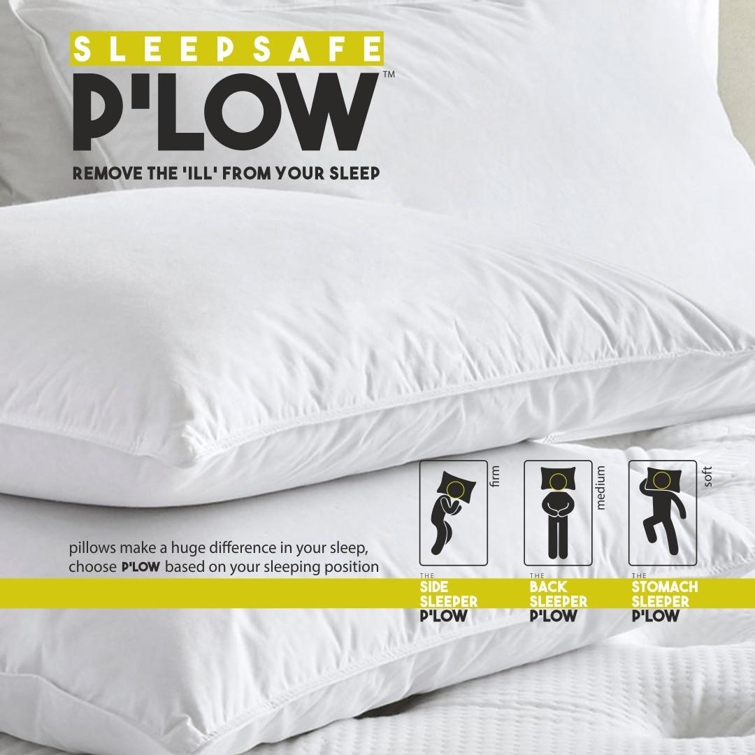 Sleepsafe Waterproof Pillow Protectors