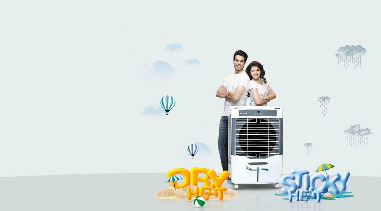 Voltas air coolers in Gurugram. Voltas jetmax 70l , voltas mega 70e,voltas victor 47,voltas lowest price air cooler.