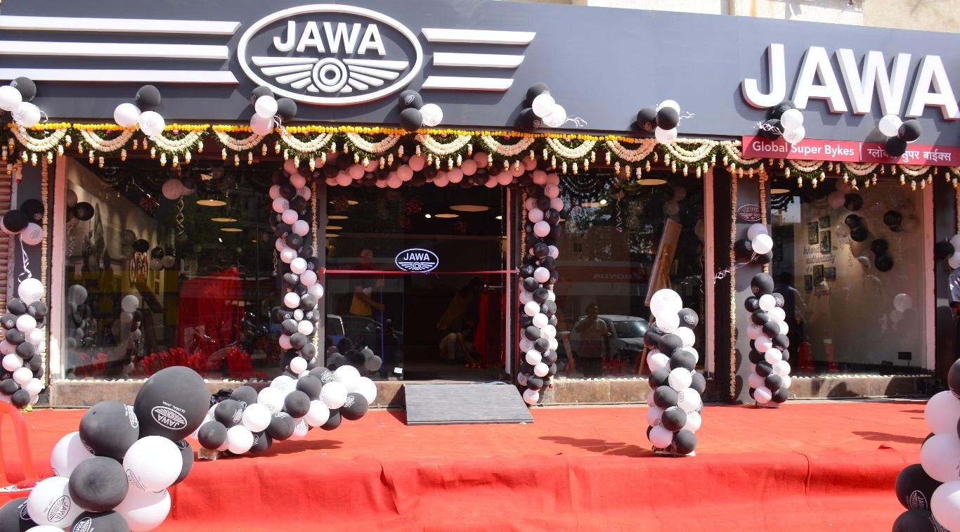 Jawa Motorcycle andheri shwroom