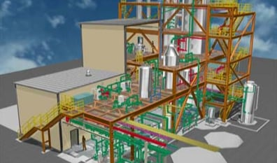 structural and piping 3d design of a plant, consult with 3d-labs.com team