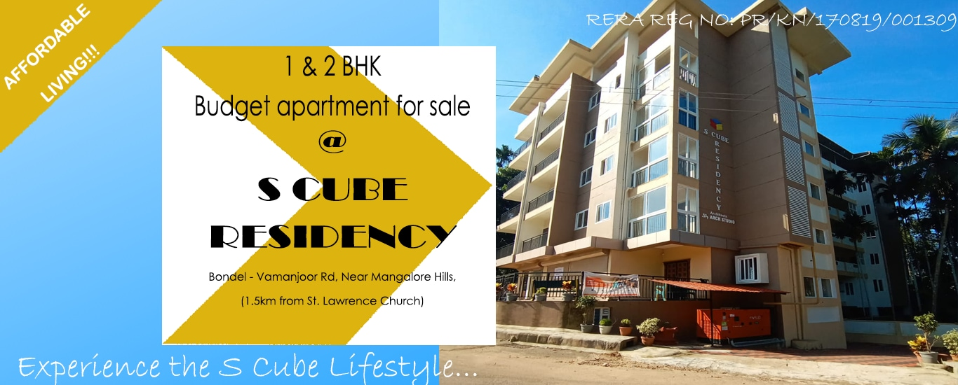 S Cube Projects - Civil Contractor and Construction Services, Architects' Association and Services, Builder and Developer Agency and Interior Designer in Kapikad, Mangalore