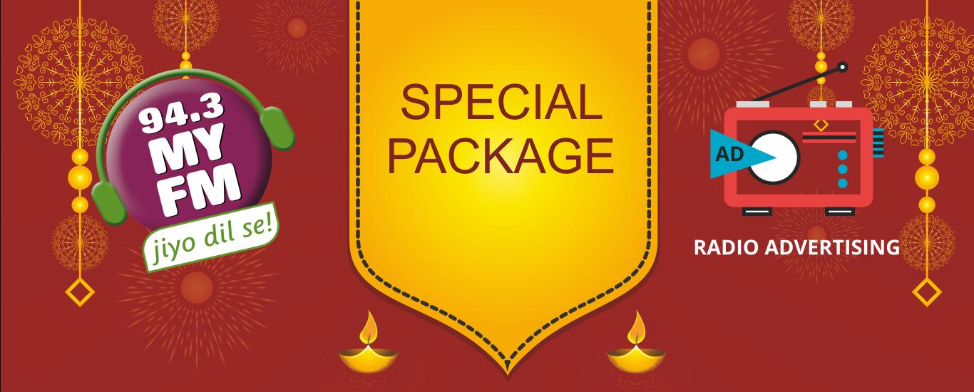 Special Navrata Diwali Rates For 94.3 My FM