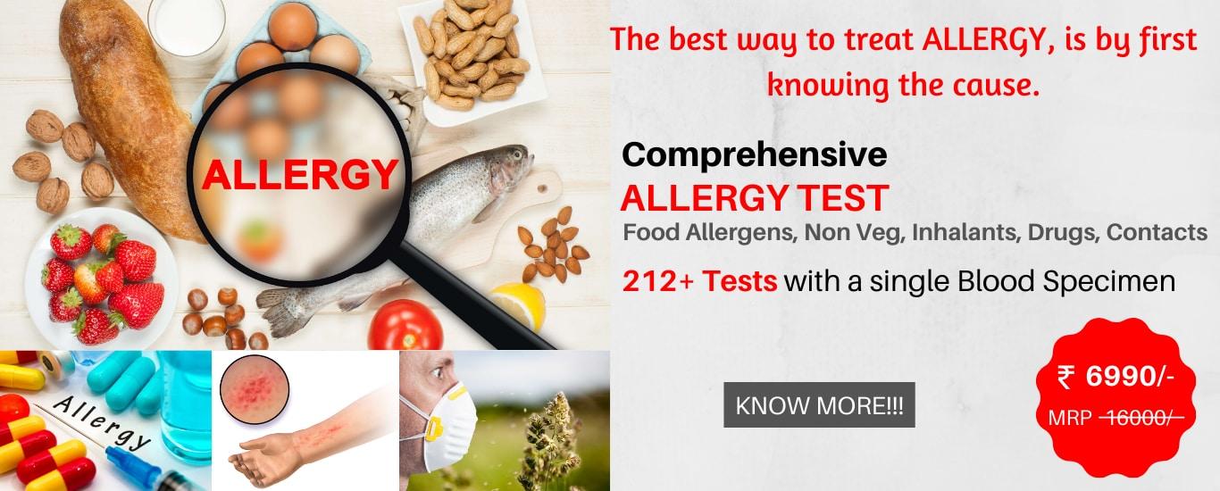 Comprehensive Allergy Test