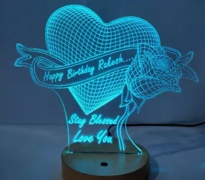 Personalized Led Lamp