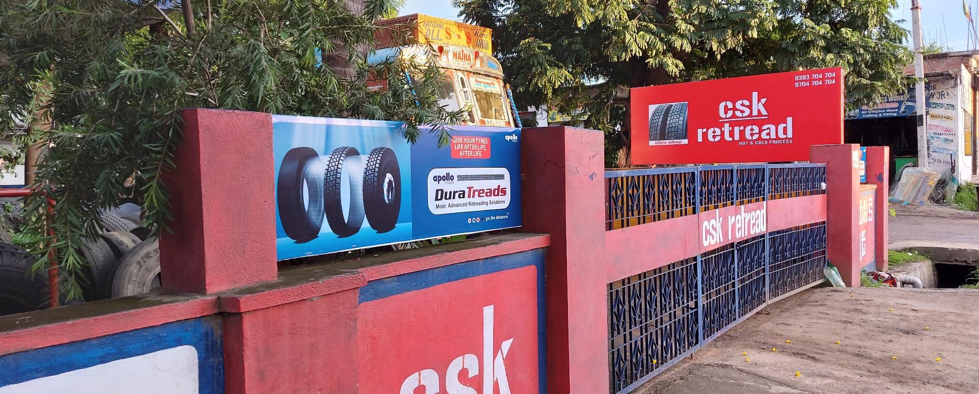 Csk Retread - Tyre Shop in Nizamabad