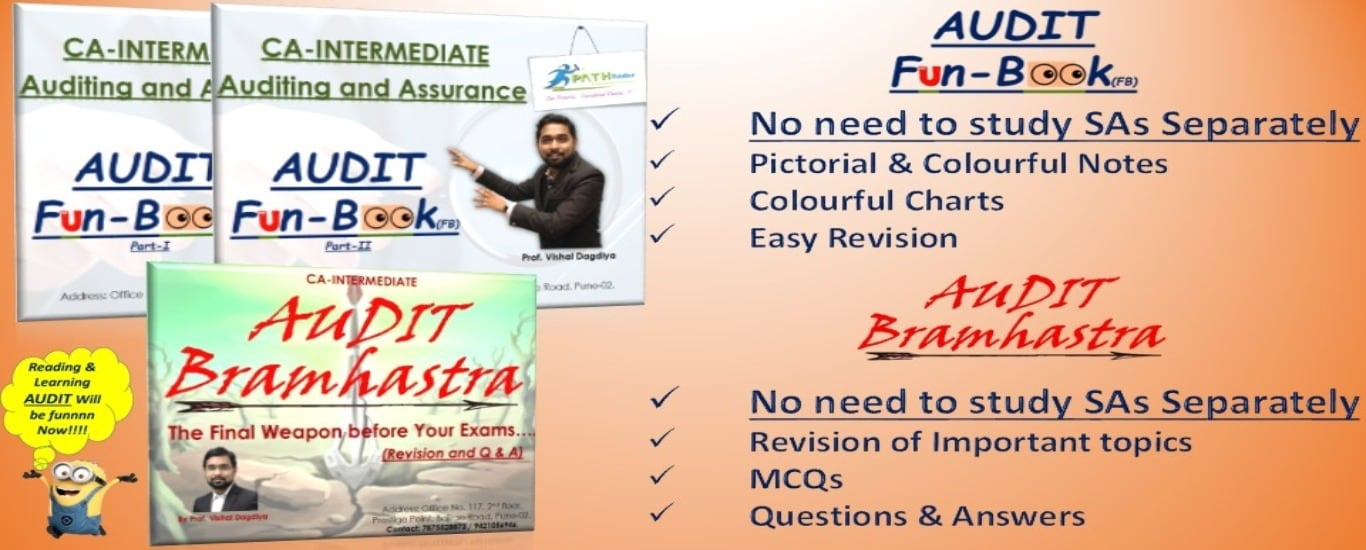 Audit | CA Intermediate | Vishal Dagdiya | Funbook | Audit Chart | Audit MCQs | Summary Charts