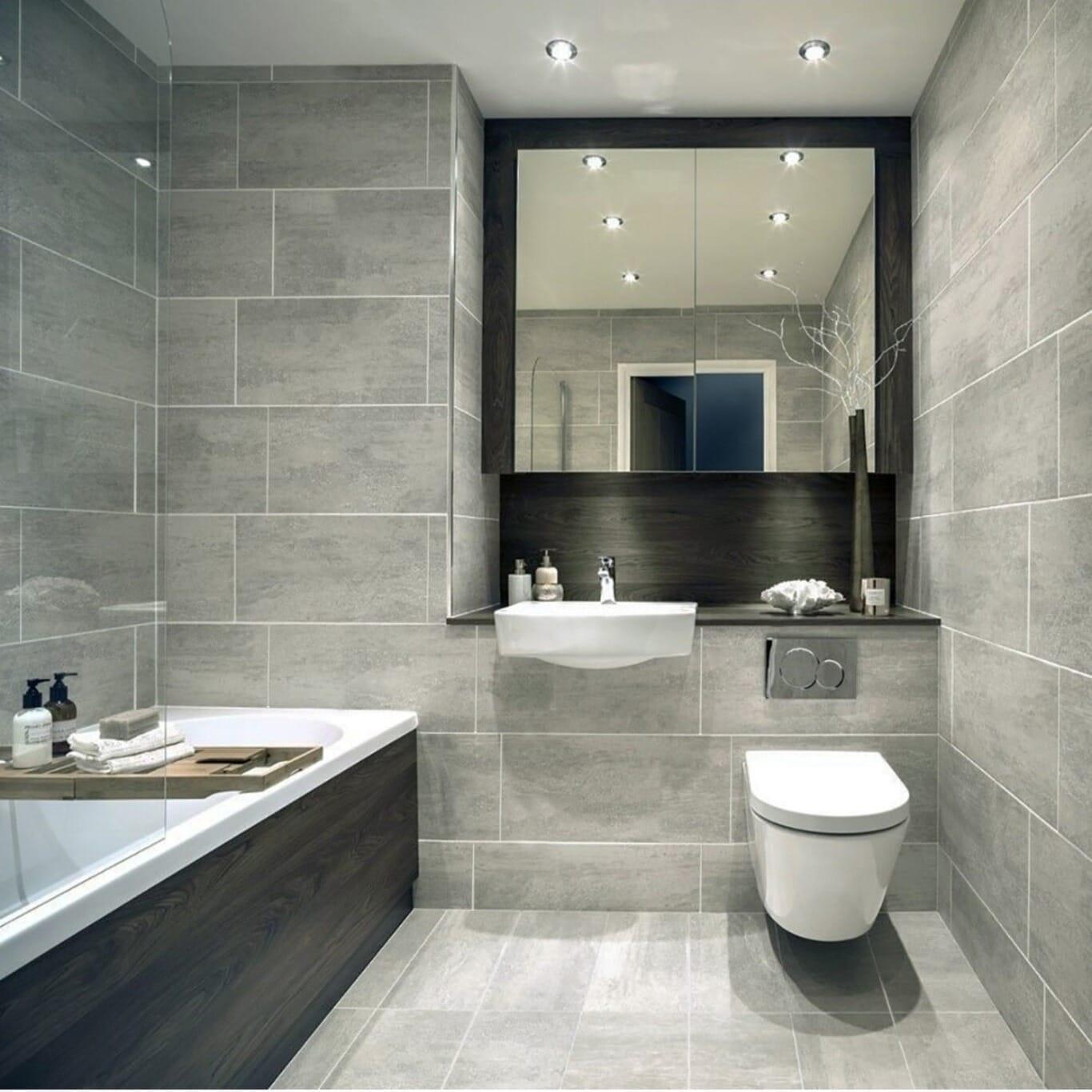 Bathroom tiles Strobe Granito