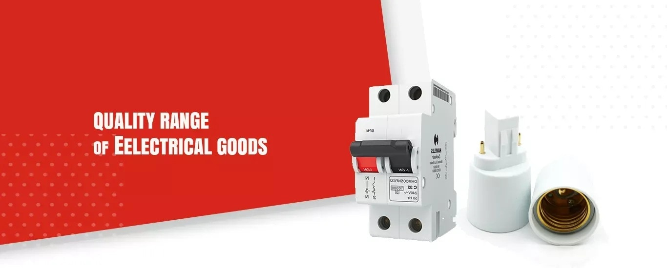 Supplier of Quality range of electrical goods in Hosur