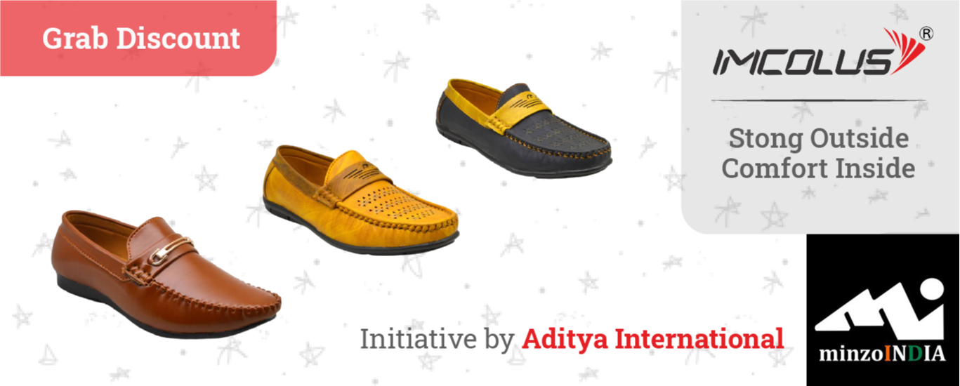 Imcolus shoes, This is an Indian shoe brand,  sell on minzoindia and deals in wholesale shoes and made in India shoes under make in India campaign footwear, boots,  shoes,  boots, shoes, casual shoes, shoe dealers, wholesalers, online sellers, sandals, sock shoes, sports shoes,  shoe dealer
