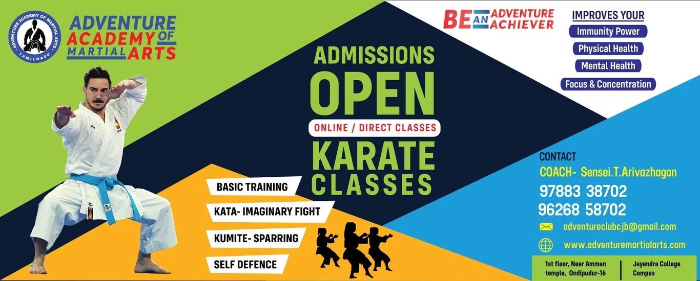 Adventure Academy Of Martial Arts - Karate Coaching Class in Ondipudur, Coimbatore