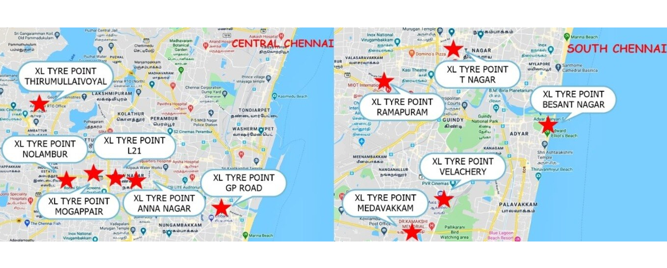 XL TYRE POINT - Tyre Shop in T Nagar, Chennai