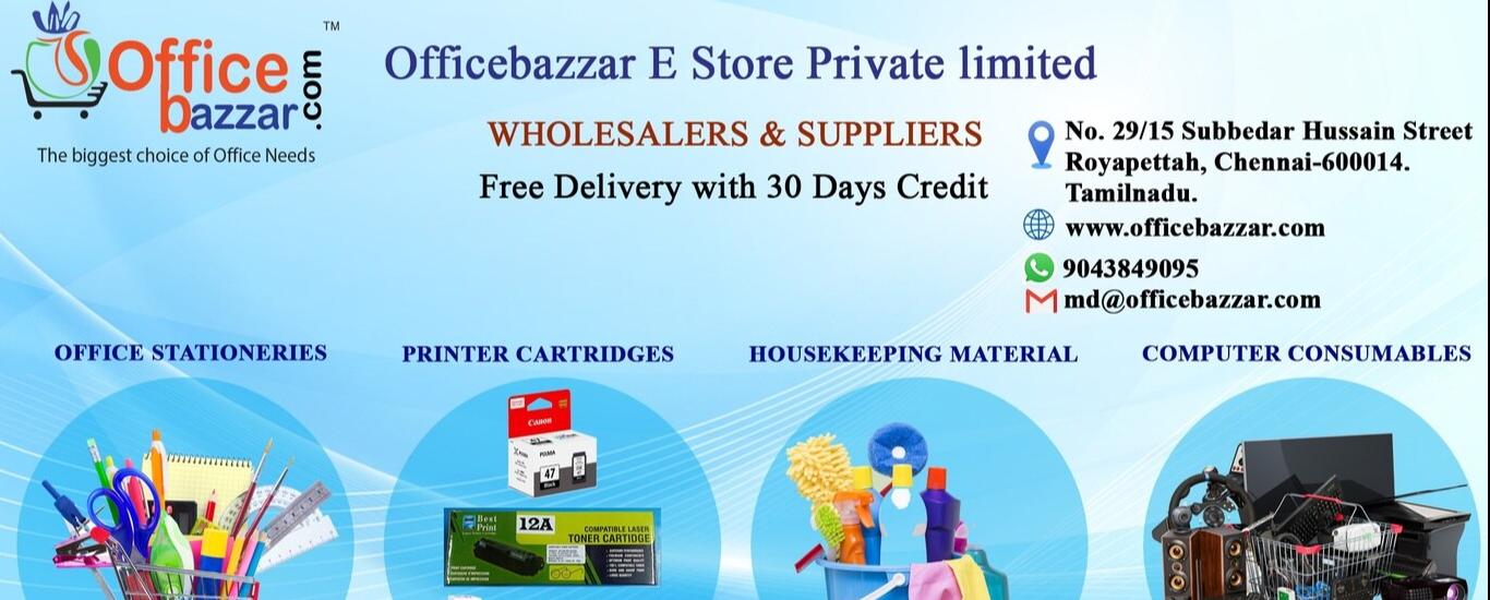Officebazzar E-store Private Ltd - Stationery Shop in Royapettah, Chennai