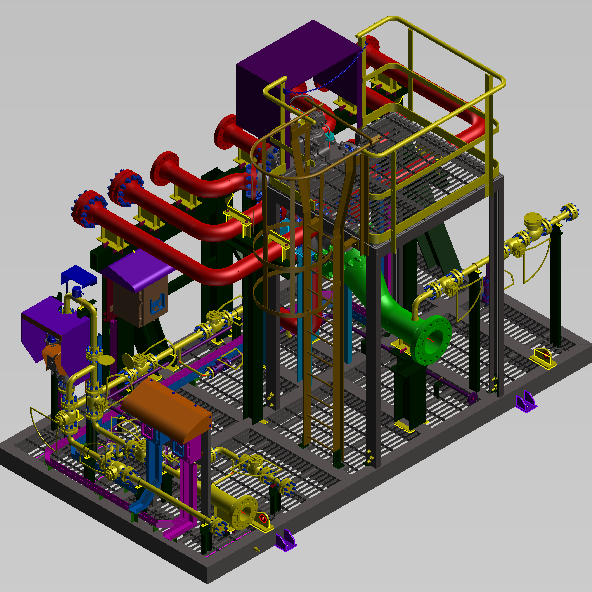 skid design and drawings,skid structural design,skid detailing services